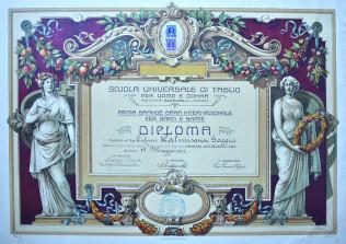 """""""Scuola Universale di Taglio"""" Catania - 1922"""